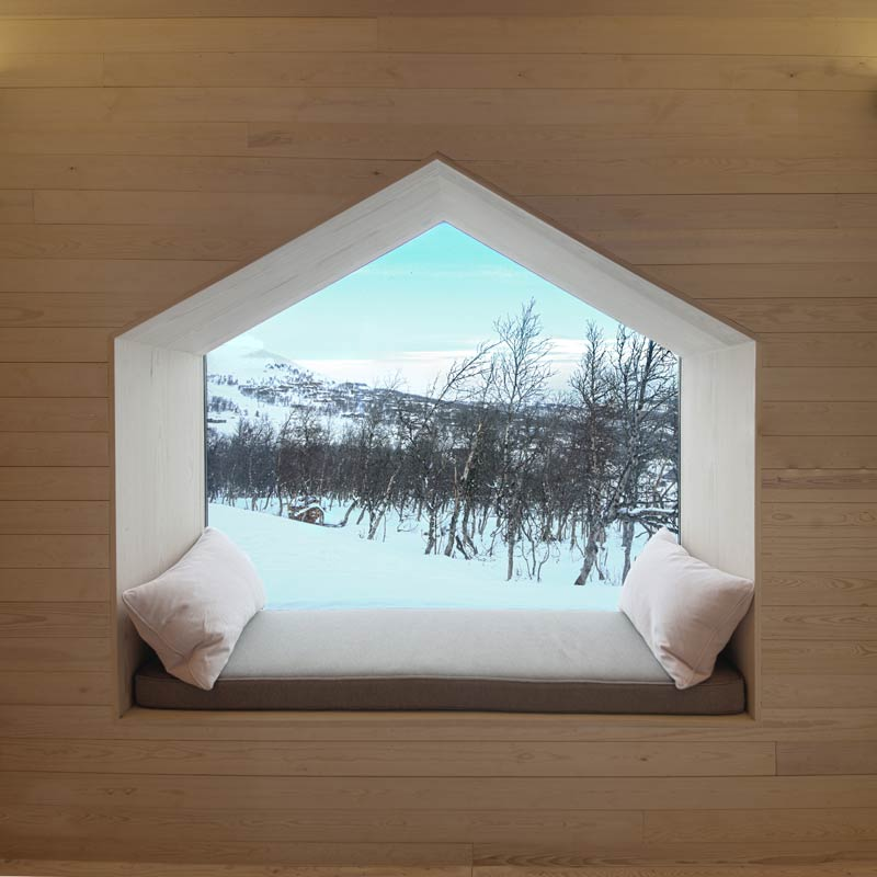Split View Mountain Lodge / Reiulf Ramstad Arkitekter