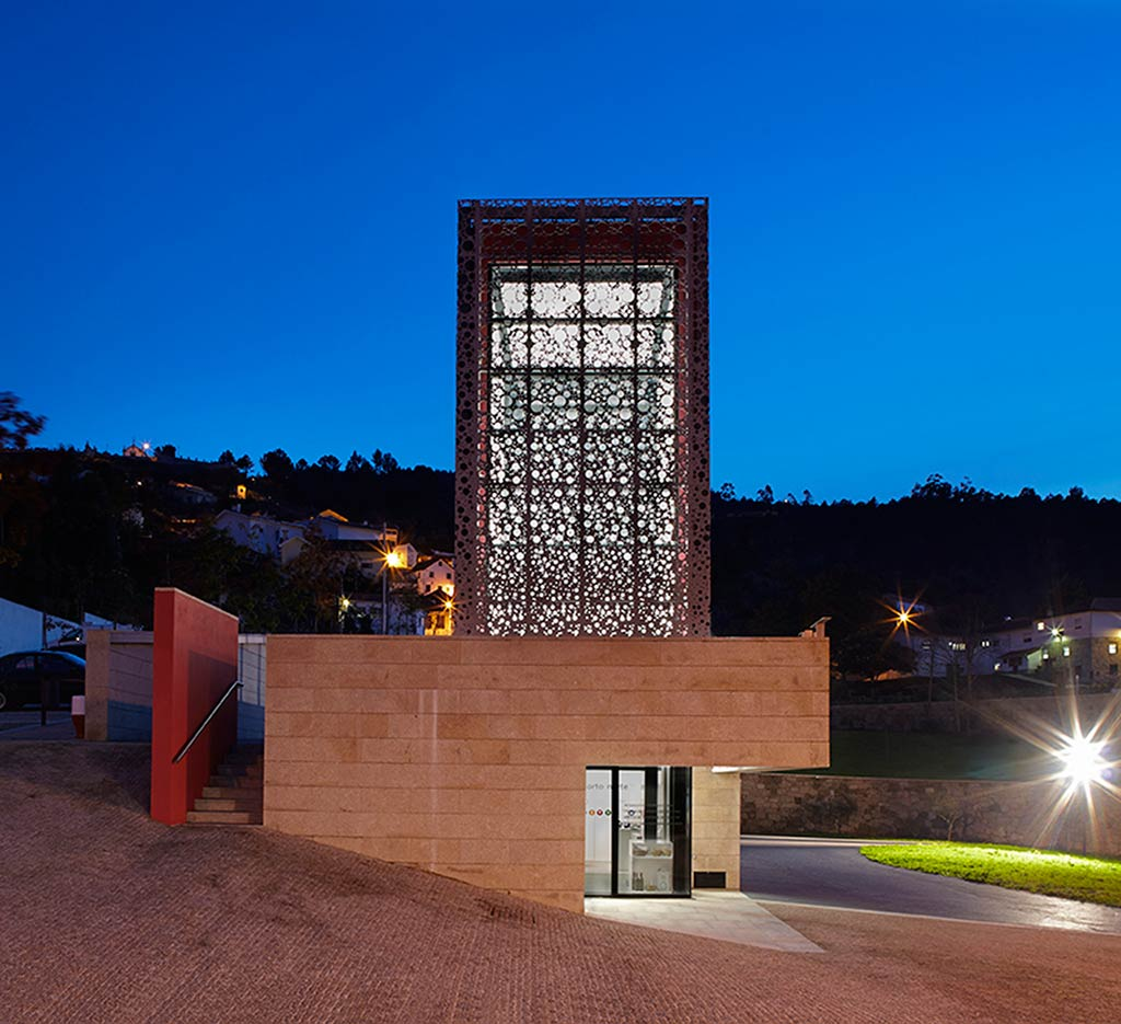 Tourist Office and landscaping of Quinta do Aido, Cinfães, Portugal