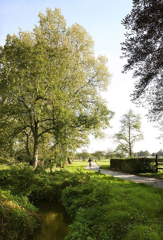 Park Groot Schijn, Zone Boterlaar Silsburg / MAXWAN architects + urbanists