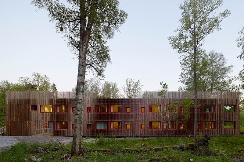 Hotel In-Between the Trees / Kjellgren Kaminsky Architecture