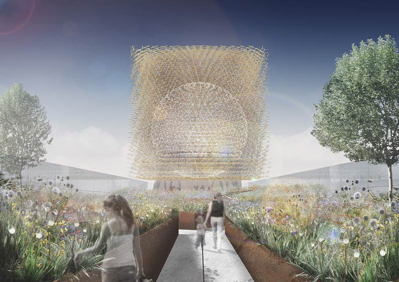 UK Pavilion at Milan Expo 2015 / Wolfgang Buttress design