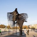 Istanbul's Taksim Square features sculptural gate / GAD Architecture