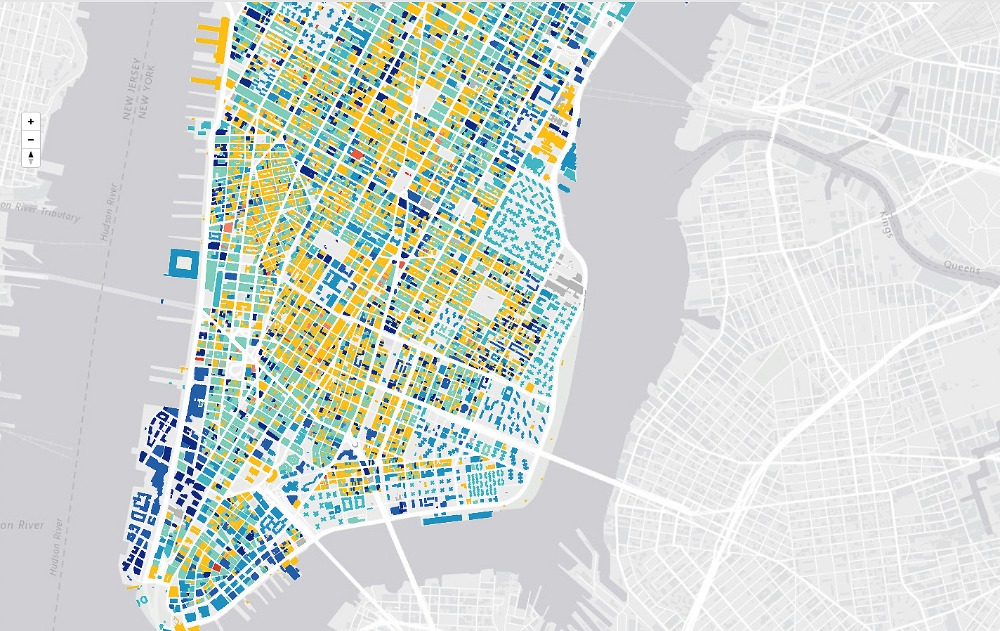 'Urban Layers' Tracks the Age of Every Building in Manhattan