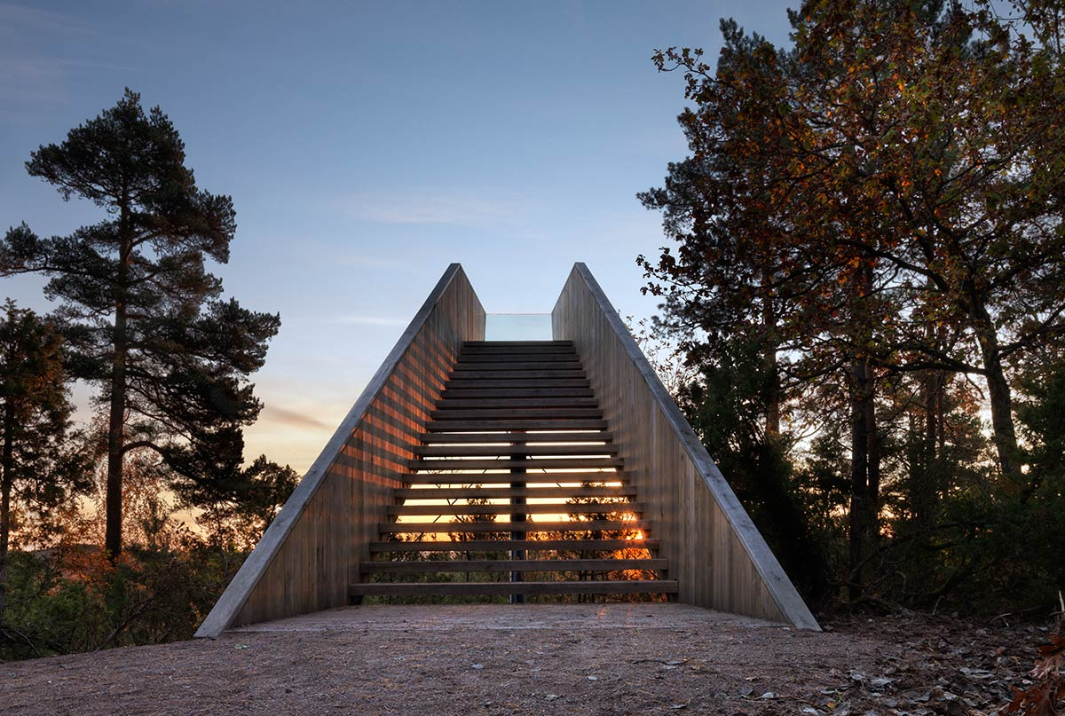 Forest Stair / Saunders Architecture