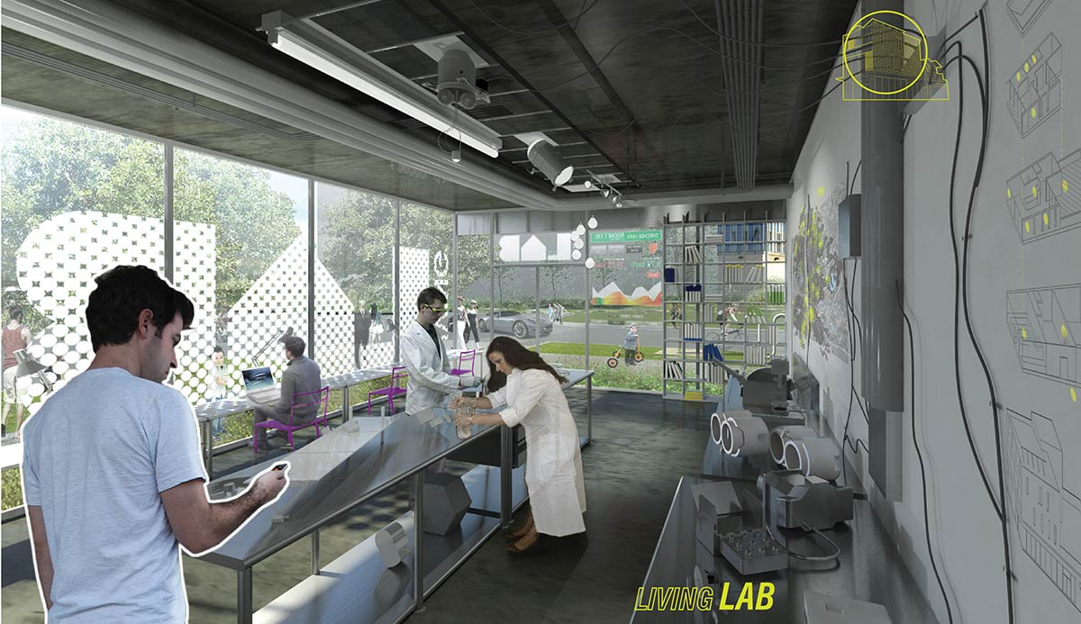 Pike powers living laboratory mf architecture for Lab architects