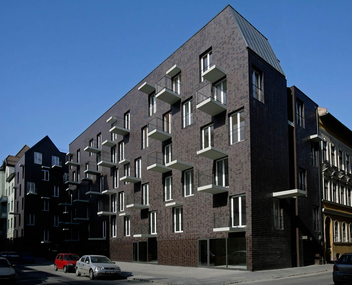 Práter Social Housing / Atelier Peter Kis