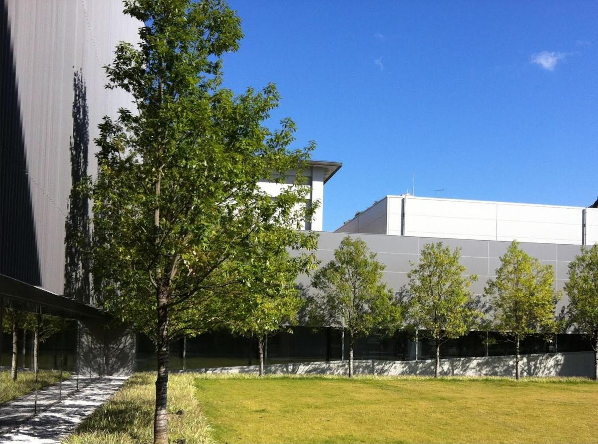 The exterior of the museum's new wing, designed by Yoshio Taniguchi