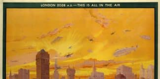The 1926 painting that foresaw how London would look today