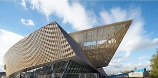 The International Congress Xperience building in Mons, Belgium