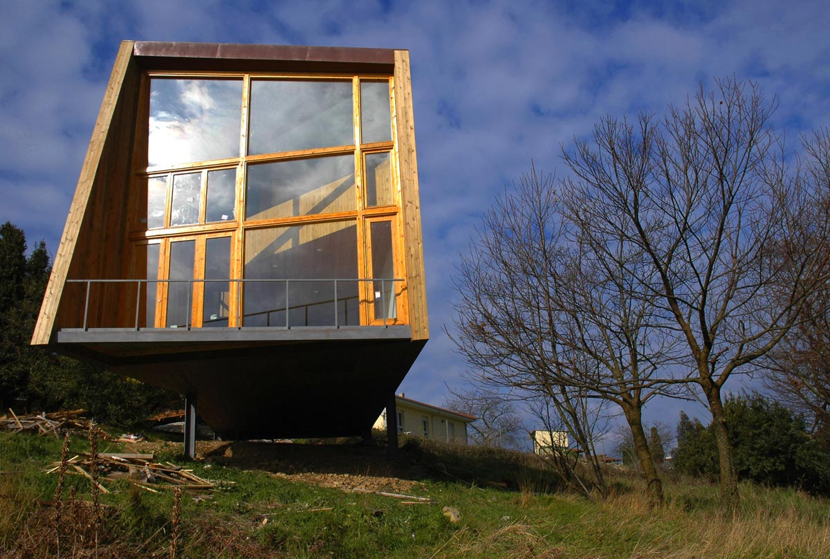 House Of Steel And Wood Ecosistema Urbano Architects Architecture Lab