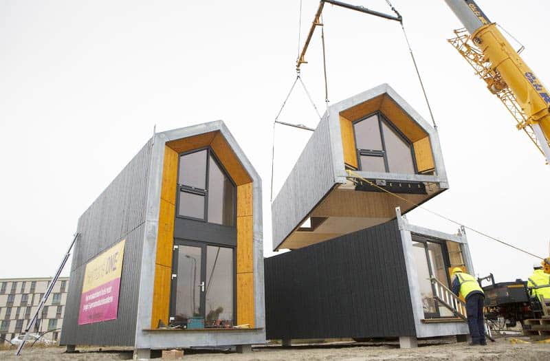 Could These Portable Temporary Homes Help Solve NYC's Affordable Housing Crisis?
