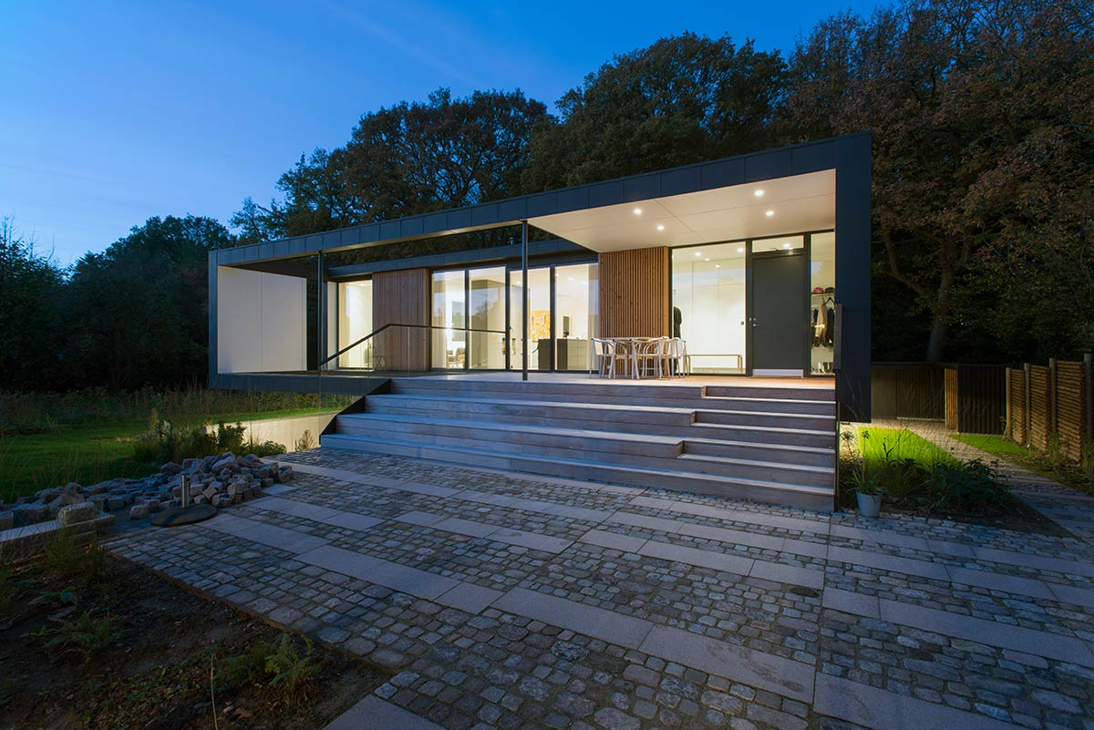 Villa r aarhus c f m ller architects architecture lab for Architecture anglaise