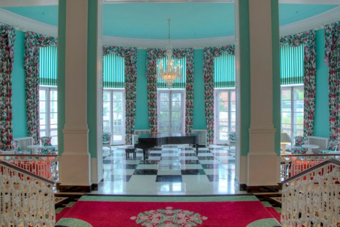 The Lobby Mezzanine of the Greenbrier