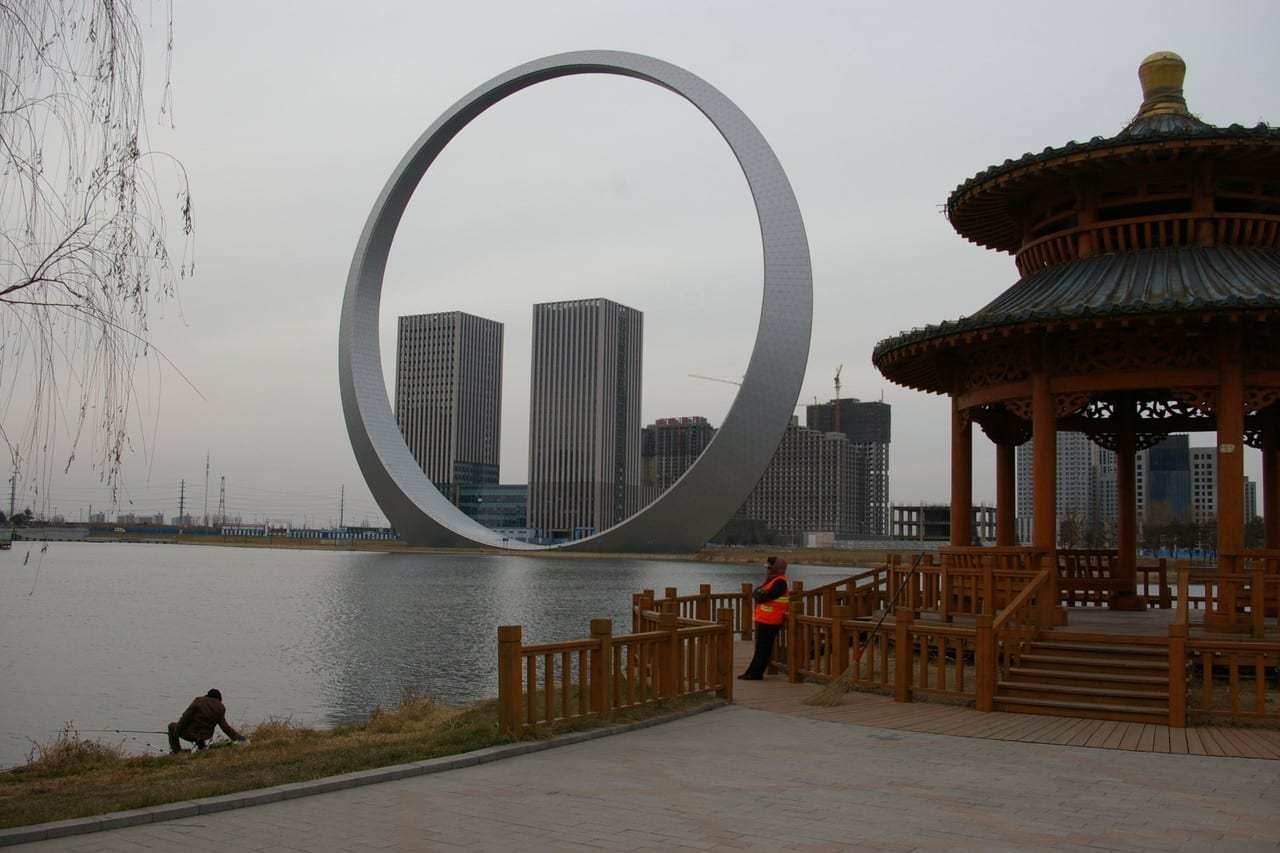 Shenyang's Ring of Life has been the subject of regular Internet jokes
