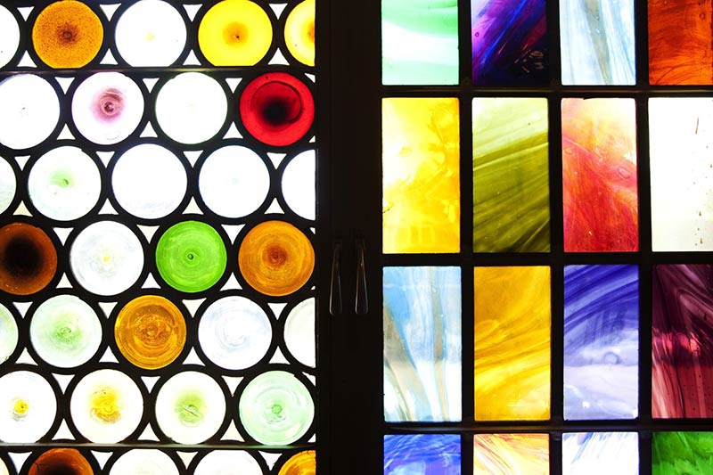 Window Pains: Stained Glass Faces Dark Days