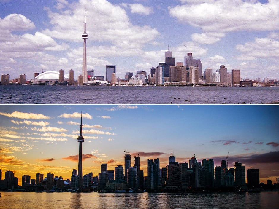 Toronto skyline's 'absolute transformation' captured by two photos taken 13 years apart