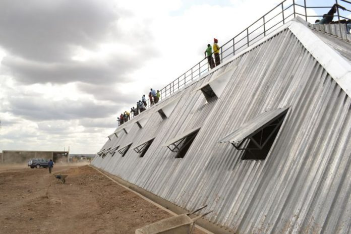 A revolutionary new football stadium in Kenya