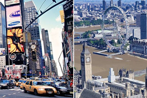 Edward Glaeser: Two great cities - but London has the edge now over New York