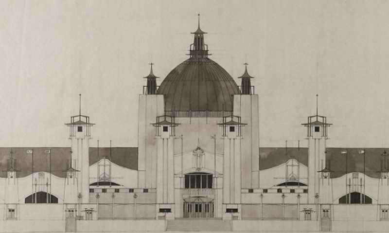 Rennie Mackintosh's 1898 International Exhibition design