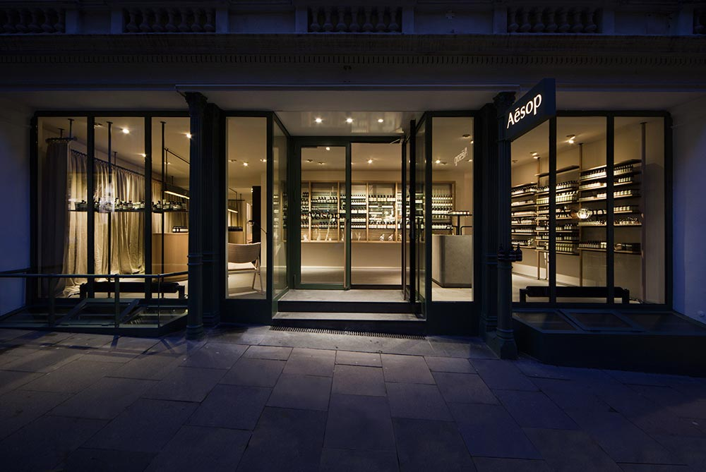Aesop ABC-Viertel, Hamburg / Vincent Van Duysen Architects