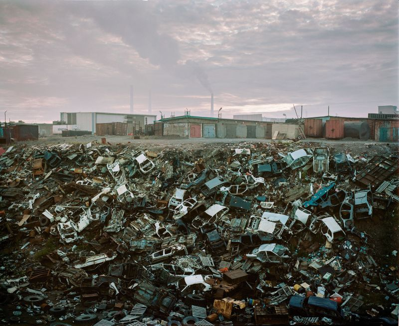 Alexander Gronsky's lens turns an industrial city into an unlikely Arctic Arcadia
