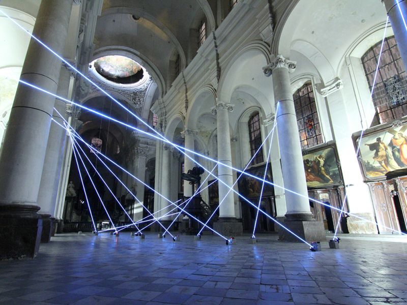 A Killer Light Show, Set Inside a Church