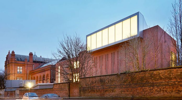The Whitworth's 'Jacobean-ish' exterior, remodelled for the 21st century at a cost of £15m after a competition won by MUMA from 130 applicants