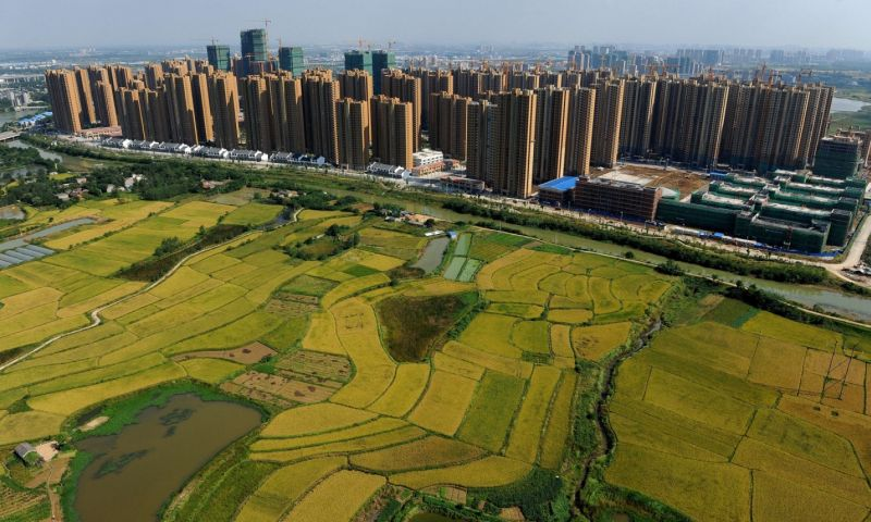 China's urban sprawl raises key question: can it feed its people?