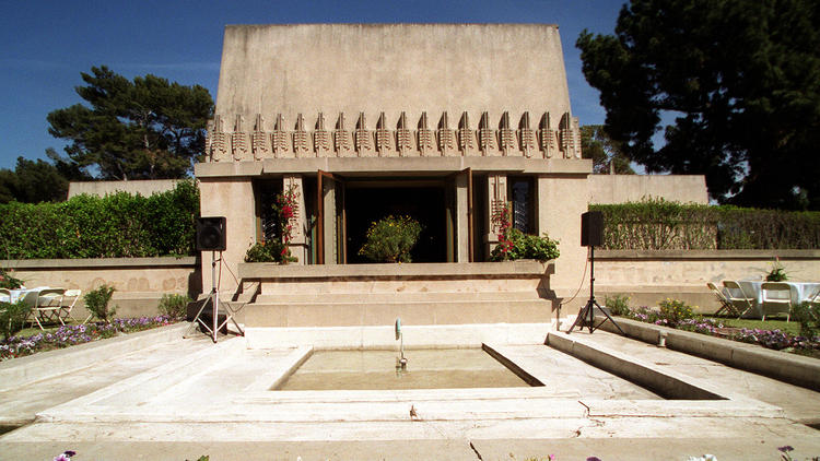 Jeffrey Herr on restoration, trash digging at Frank Lloyd Wright's Hollyhock House