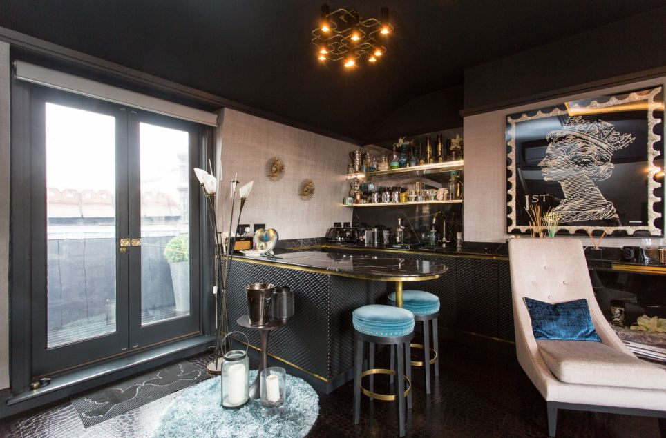 The Mini Bar Apartment: The perfect pied-a-terre for an affluent singleton in London