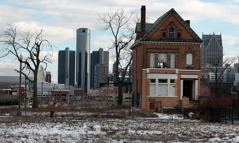 The two Detroits: a city both collapsing and gentrifying at the same time