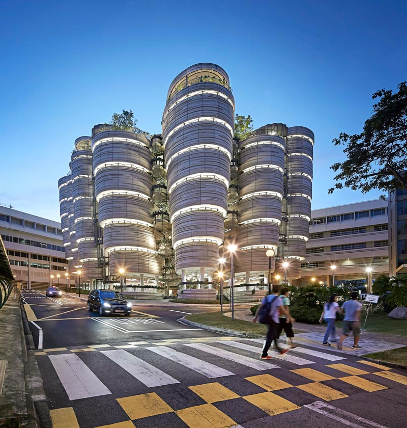 Nanyang Technological University, Singapore / Heatherwick Studio