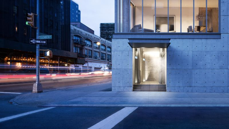 A NoLIta Condo by the Architect Tadao Ando