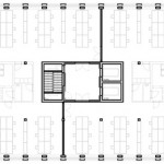 Plan - Herostrasse Office Building, Switzerland / Max Dudler