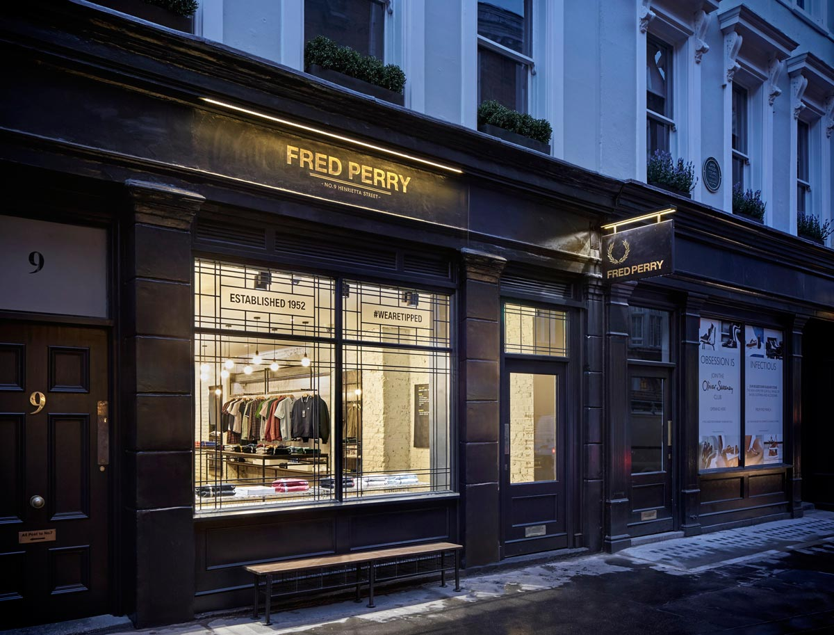 BuckleyGrayYeoman completes 9 Henrietta Street for Fred Perry in Covent Garden