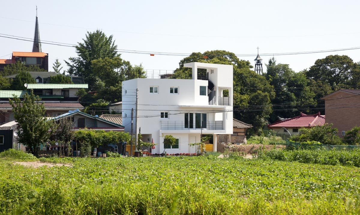 House in Nogyang, South Korea / studio_GAON