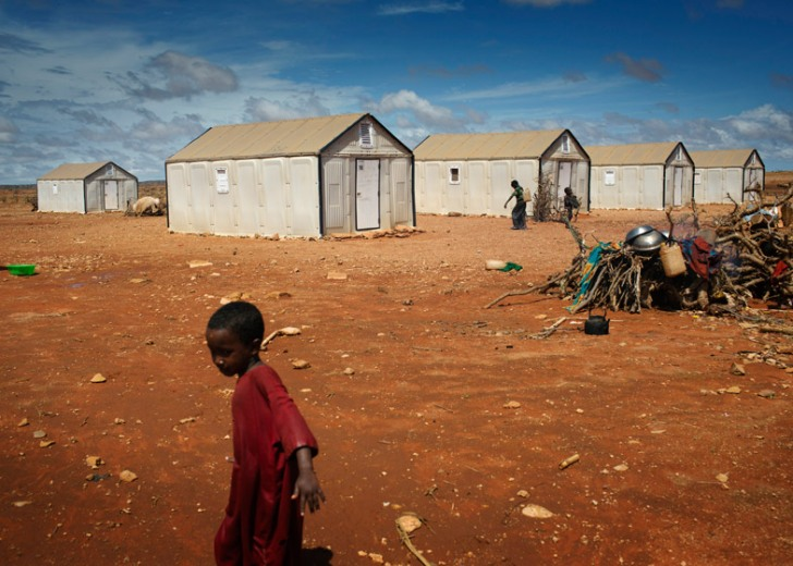 IKEA produces 10,000 flat-pack shelters for UN refugees