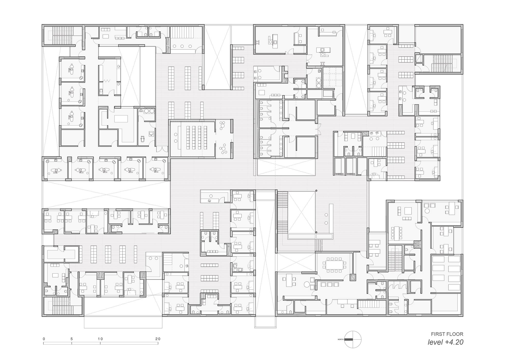 Ali Mohammed T Al Ghanim Clinic Kuwait Agi Architects - The-contemporary-black-and-white-house-by-agi-architects