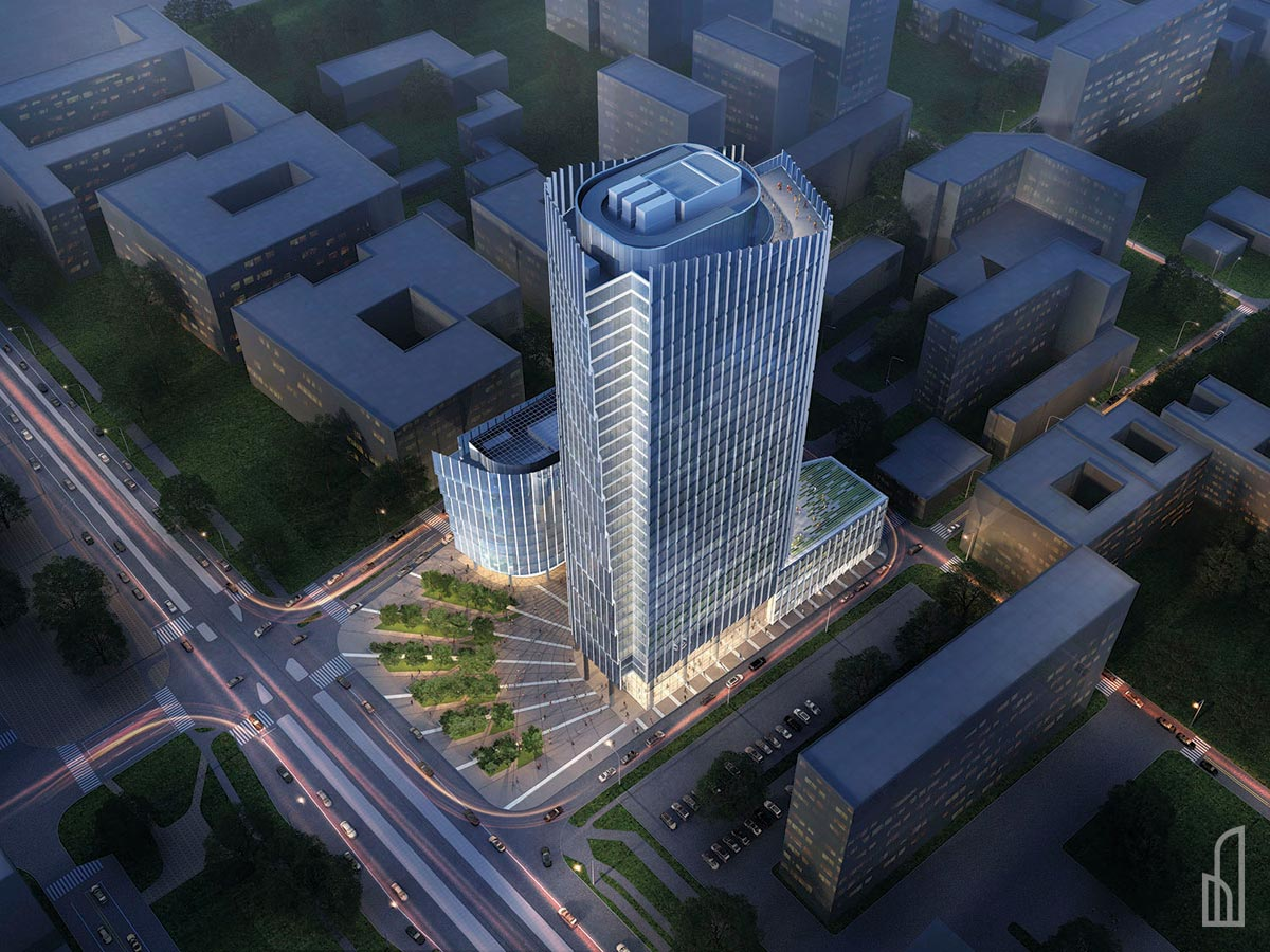 Mennica Legacy Tower - Warsaw's new office skyscraper designed by Goettsch Partners
