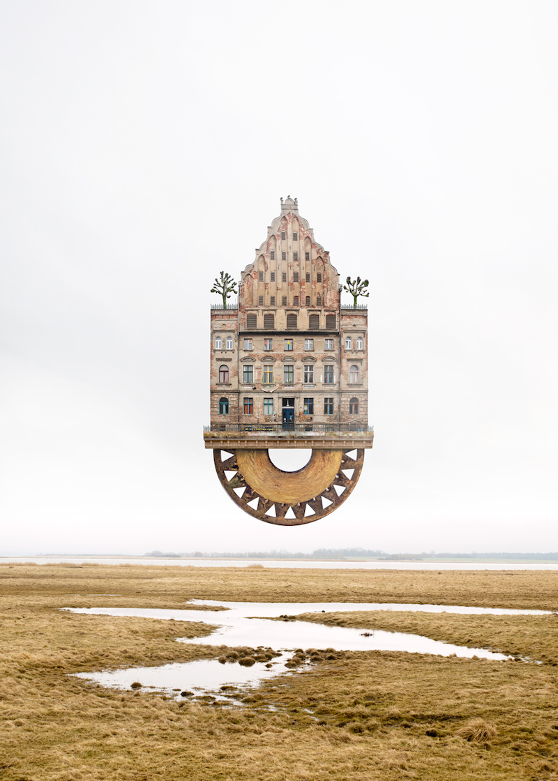 Matthias Jung's Surreal Homes