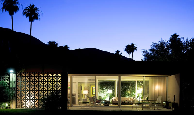 Palm Springs Celebrates Mid Century Modernism One House At