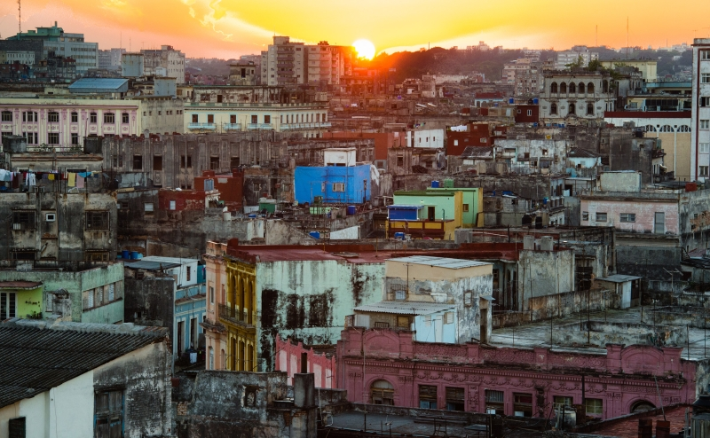 On Havana's rooftops - A Secret World