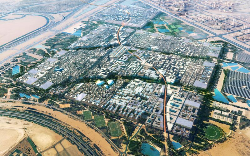 Masdar City - The Arcology
