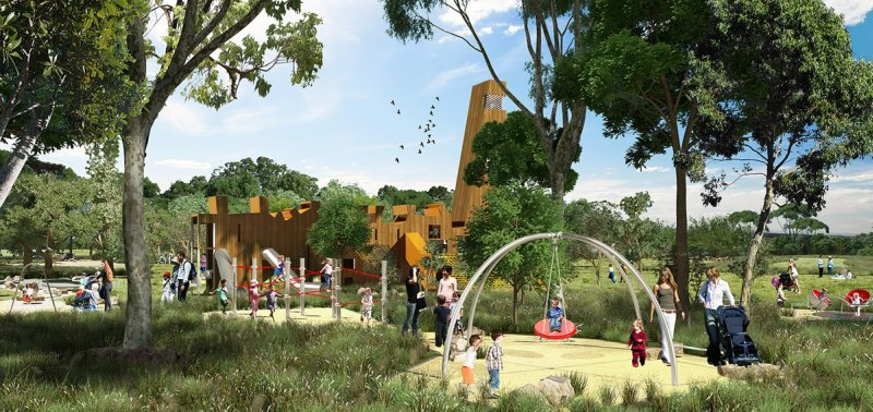 "New ""super park"" for Western Sydney"