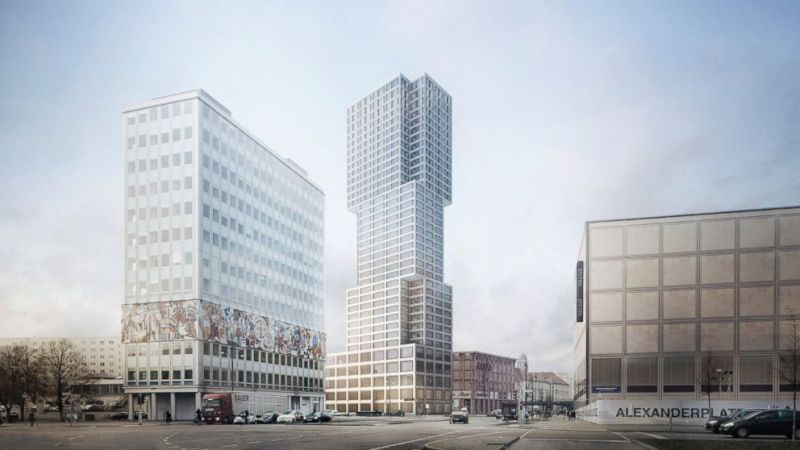 Berlin's Alexanderplatz is Hot Again but this time for Architects
