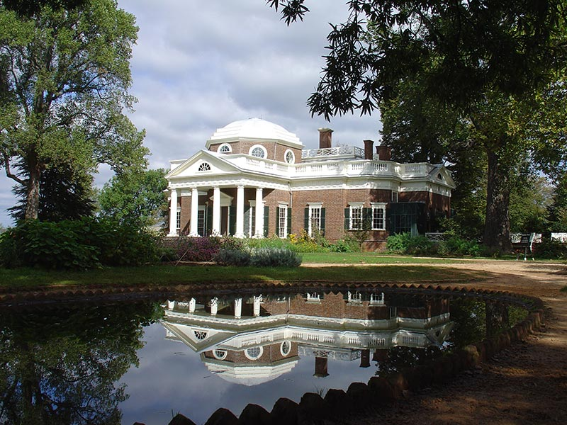 Architecture: Monticello & University of Virginia