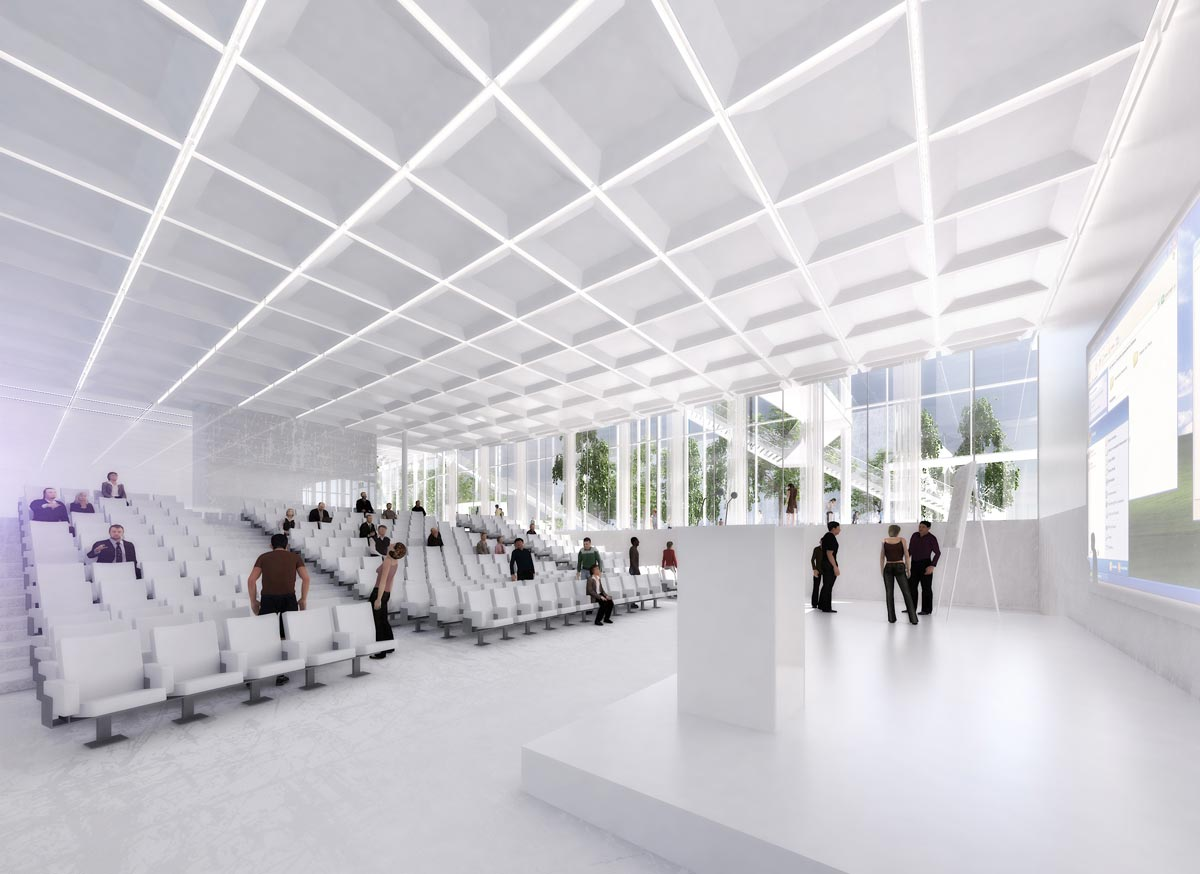 The Learning center for Polytechnique School, France