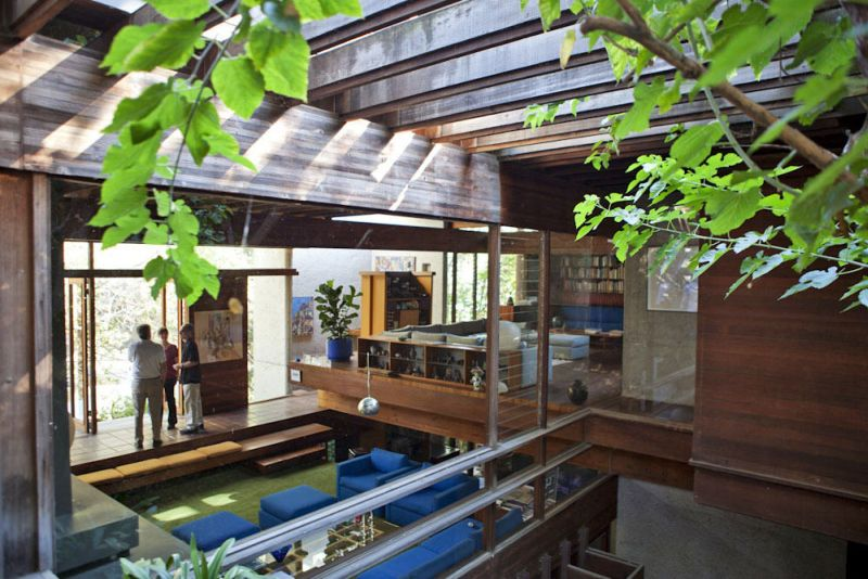 A treetop tour of Ray Kappe's Californian abode