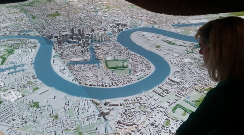 Someone's built a 12.5 metre 3D model of London - and you can play with it
