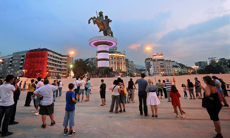 How Skopje became Europe's new capital of kitsch